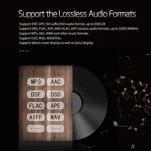 Image 4 - XDUOO X3II X3 II AK4490 USB DAC Bluetooth Portable HD Lossless MP3/WAV/ FLAC Music Player DSD128 Hiby Link In line Control