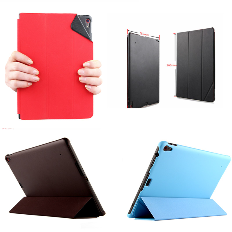 SD Classic Ultra-thin Smart Cover Business PU Leather Case For Lenovo Thinkpad 10 Stand Skin Cases For Thinkpad10 10.1 Tablet