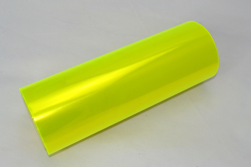 Image 2 - Fluorescent yellow Auto Car Headlight Tint Vinyl Film Sheet Sticker Car Smoke Fog Light Headlight 0.3*10m Roll-in Car Stickers from Automobiles & Motorcycles