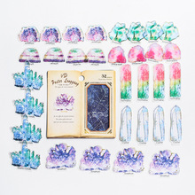 32 pcs/pack Flowers Totem Memo Stickers Pack Posted It Kawaii Planner Scrapbooking Stickers Stationery Escolar School Supplies цена