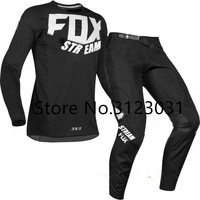3 Colors 2019 STREAM FOX Racing 360 Gear Set Motocross suit MX Motorcycle jersey and pants