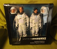 NECA Interstellar Crossing 8 inch Cooper Emilia 2pcs Set Action Figure Toy S146