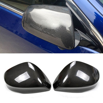 Mới Sợi Carbon Xe Cửa Phụ Gương Chiếu Replacment Dành Cho Xe Honda Spirior 2015