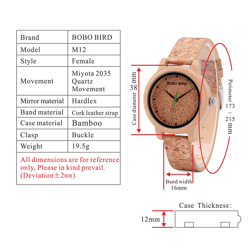 wooden wristwatches for men and women bobo bird mens watches (19)