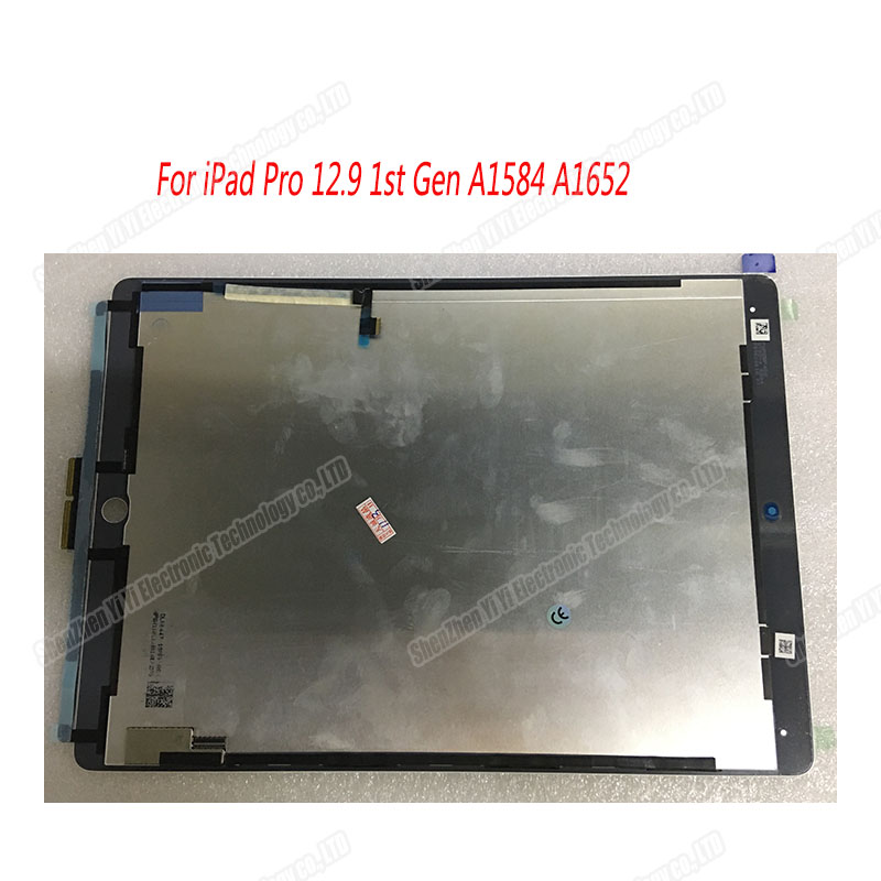 Original  NEW  White Color For Ipad Pro 12.9 Inch Lcd Touch Screen Digitizer Assembly For IPad Pro 12.9 1st Gen A1584 A1652