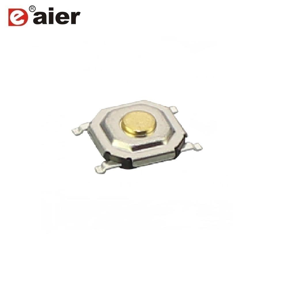 50pcs 6x6x2.5mm Tactile Push Button Switch Tact Switch Micro Switch 4 Pin SMD