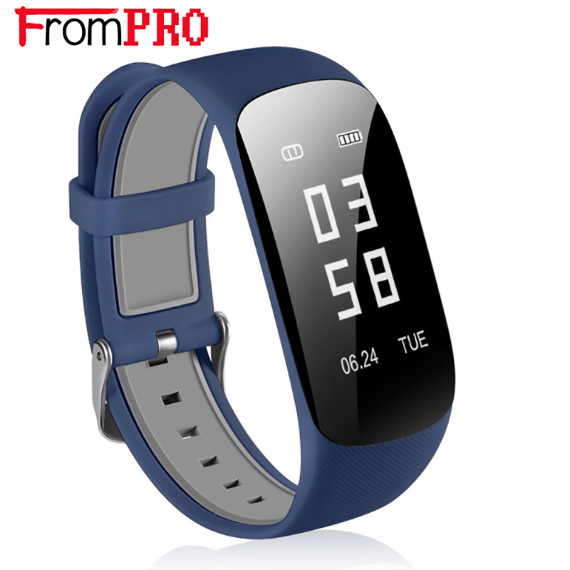 FROMPRO Z17 Smart Bracelet Heart Rate Sleeping Activity Tracker Smartband IP67 Waterproo ...