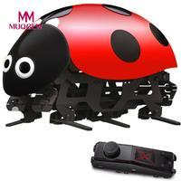 MUQGEW Marca 2.4 Ghz RC DIY Veículos Carros de Corrida de Controle de Rádio Carro Joaninha Os melhores brinquedos educativos Para Crianças de Natal presente