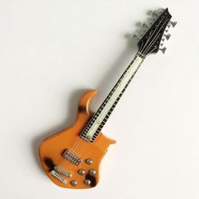 03 Miniature Brown Flame Exquisite Guitar For SD MSD BJD Super Dollfie Outfit