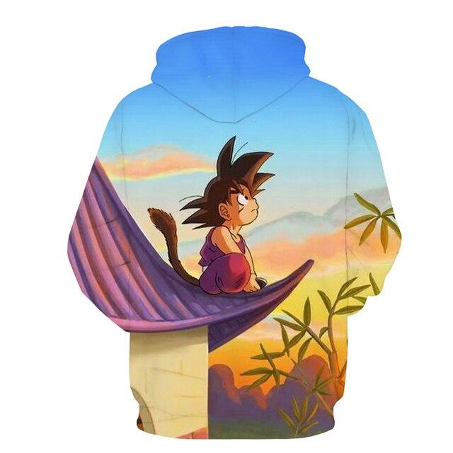 Cute Son Goku Both Side Printed Sweatshirts Hoodies