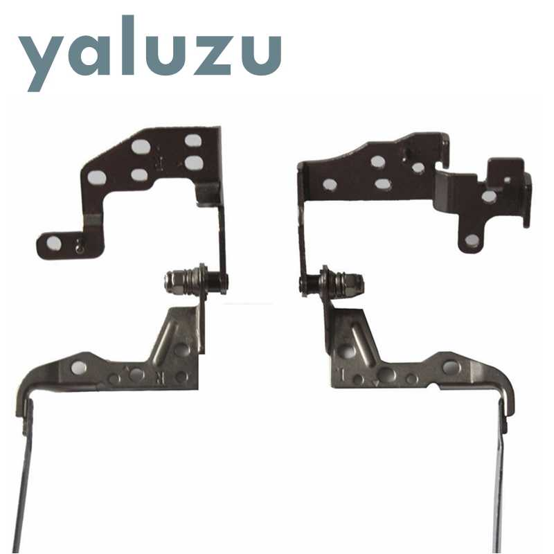 YALUZU جديد محمول المفصلي ل HP بافيليون 15-D 250 G2 255 G2 15-D000 15-A 15-D 15-D000 شاشة Lcd مفصلات قوس 747120-001 L & R