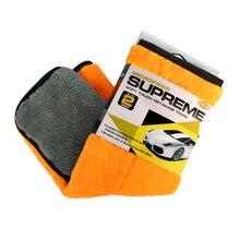 Auto Care 1pc 800gsm 45cmx38cm Super Thick Plush Microfiber Car Cleaning Cloth Car Care Microfibre Wax Polishing Detailing Towel