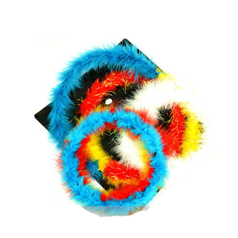 Color changing feather circle magic tricks props A full set of Complimentary scarf gimmick