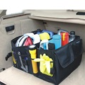 Home Car Trunk Cargo Multi Organizer Foldable Storage Box Bag Tool Case Black