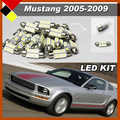 Car LED Set Kit Lamps Truck Interior Exterior Bulbs High Power Easy Insulation Fit Mustang 2005-2009 Quality Warrant
