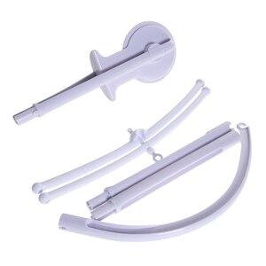 Image 4 - Soporte para cuna de bebé, sonajeros, bricolaje, peluche colgante, cuna de bebé, cama móvil, campana, soporte de juguete para niños, brazo giratorio de 360 grados