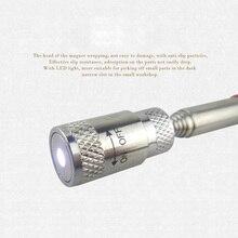 Мини неодимовые Imanes светодиодный палочка для игры в Микадо телескопические магнитные инструменты для выбора гайки Болты LO88