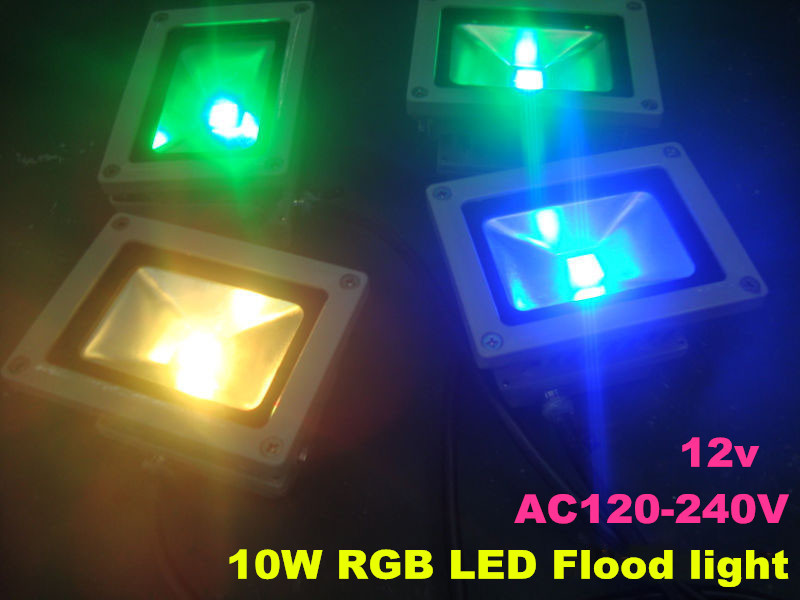 10W Rgb Led Flood Light IP65 Waterproof For Outdoor Use Led Flashlight Led  Lamp Rgb (