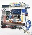 100% nueva mega 2560 r3 starter kit motor servo relé de Alcance Ultrasónica LCD para arduino RFID