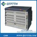 Оригинал ZTE ZXA10 C300 GPON OLT оборудование, с одной 8-портовый GPON GC8B включены, с 8 SFP Модуль