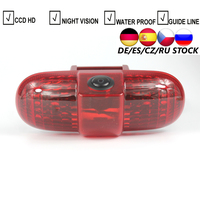 CCD HD Car Brake LED Light Rear View Camera For Renault Trafic 2001 2014 Combo Opel/Vauxhall Vivaro Brake camera reverse backup