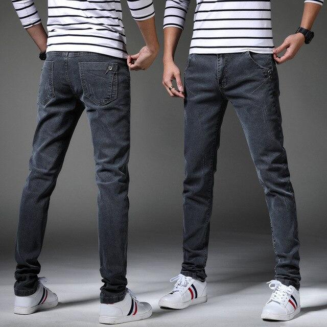 Men's Denim Distressed Skinny Jeans 2