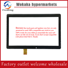 "Envío libre XC-PG1010-084-FPC-A0 HXS 10.1 ""pulgadas de pantalla Táctil touch Panel Digitalizador Del Sensor de reemplazo para MEDIADOS"
