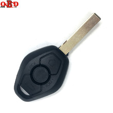 цена на HKOBDII 10pcs, FOR BMW X3 X5 EWS System 433/315MHz 3 Buttons General Straight Remote Car Key With 7935/ID44 Chip