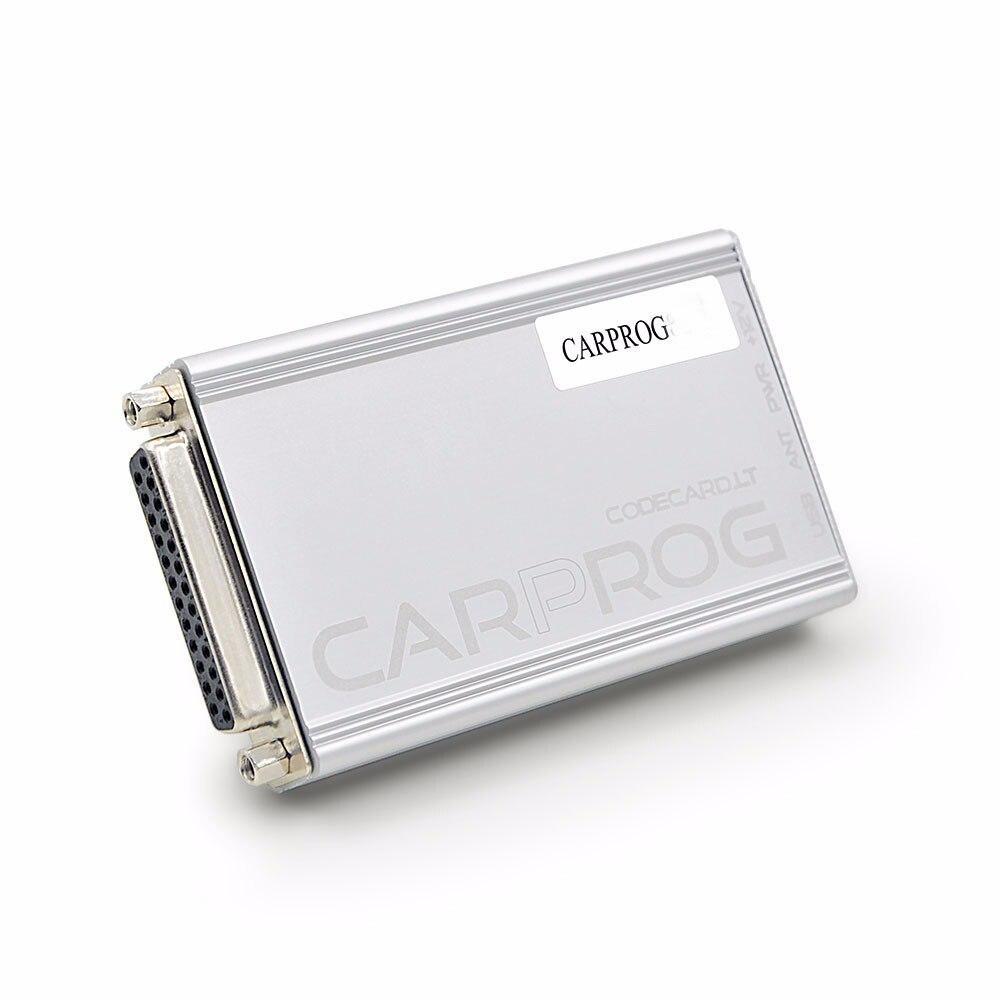 Newest CARPROG V10 93 Programmer Full 21 Adapters Auto Car Prog 10 93 ECU  Chip Tester for Airbag/OBD2 Repair Airbag Reset Tools