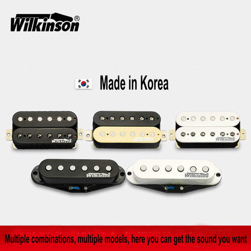 Gitarre Pickups Original Wilkinson Alnico V Humbucker Pickups, Single coil-Pickups, Metall rock Pickups Made in Korea