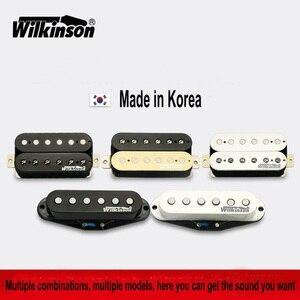 Image 1 - Guitar Pickups Original Wilkinson Alnico V Humbucker Pickups, Single coil Pickups ,Metal rock Pickups Made in Korea