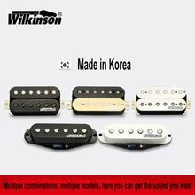 Pastillas de guitarra Original Wilkinson Alnico V Humbucker pastillas, pastillas de una sola bobina, pastillas de Metal rock Made in Korea