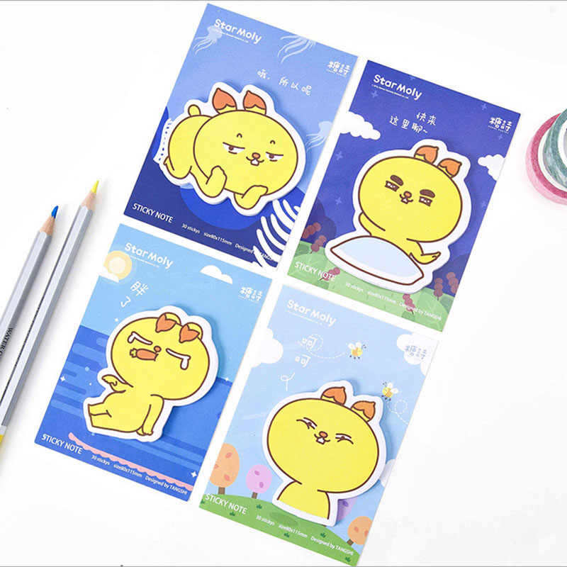 1X Creative Mr. cold weekly plan Sticky Notes Post Memo Pad kawaii stationery School Supplies Planner Stickers Paper