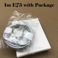 100pcs/lot Newest AAAAA+ quality E75 Cable Chip OD 3.0mm For iPhone X Xs max 8 7 SE 5 5S 6 6s plus ,with retail box