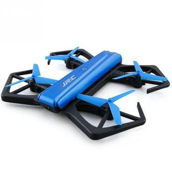 H43WH CRAB WIFI Remote Control FPV 4CH 720P Camera Foldable RC Quadcopter BLUE