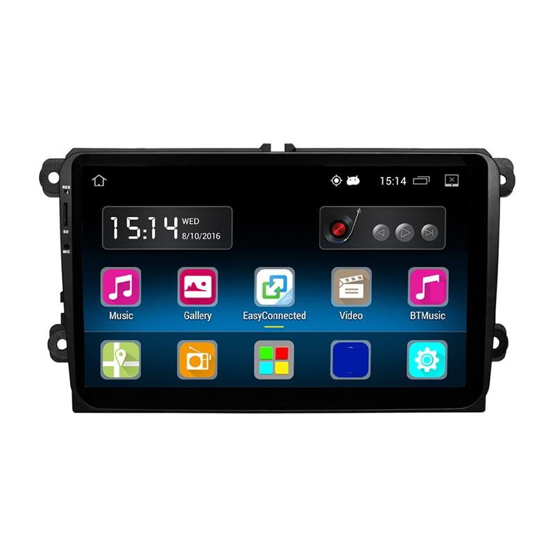 Rm-vwty90 9 дюймов Android 5.1 штатную стерео проигрыватель A2DP GPS 1 г DDR3 + 16 г памяти NAND Flash для VW Passat Гольф Jetta Мужские поло
