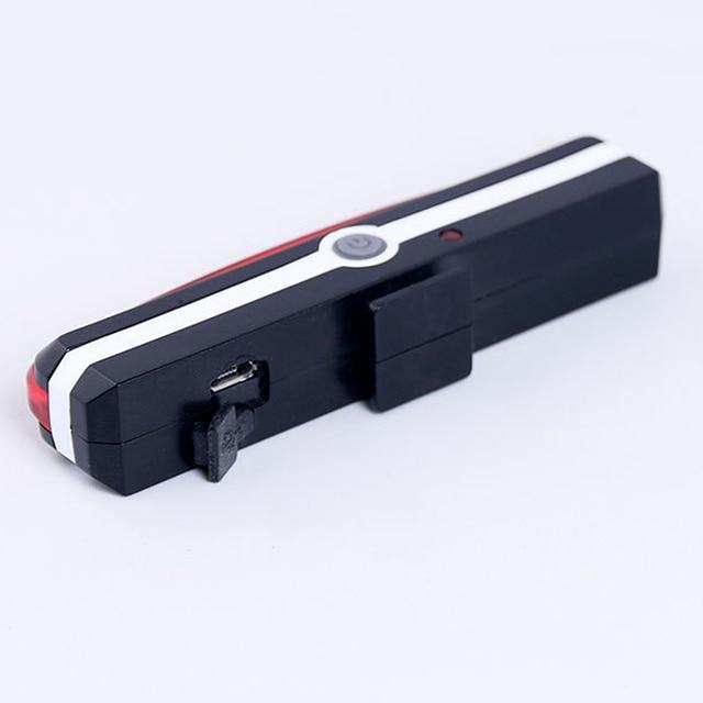 USB Rechargeable vélo arrière lumière cyclisme LED feu arrière étanche vélo queue lumière arrière lampe pour vélo