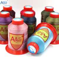 30# sewing thread polyester thread set strong 210D/3 sewing threads for machine fil polyester silk embroidery threads good pull