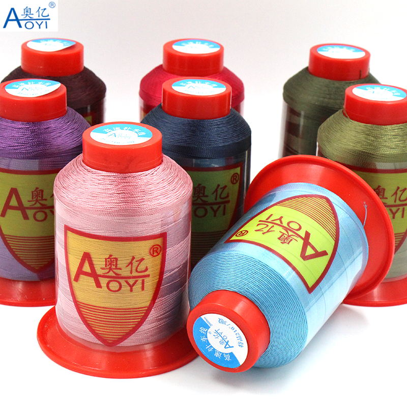 30 sewing thread polyester thread set strong 210D 3 sewing threads for machine fil polyester silk