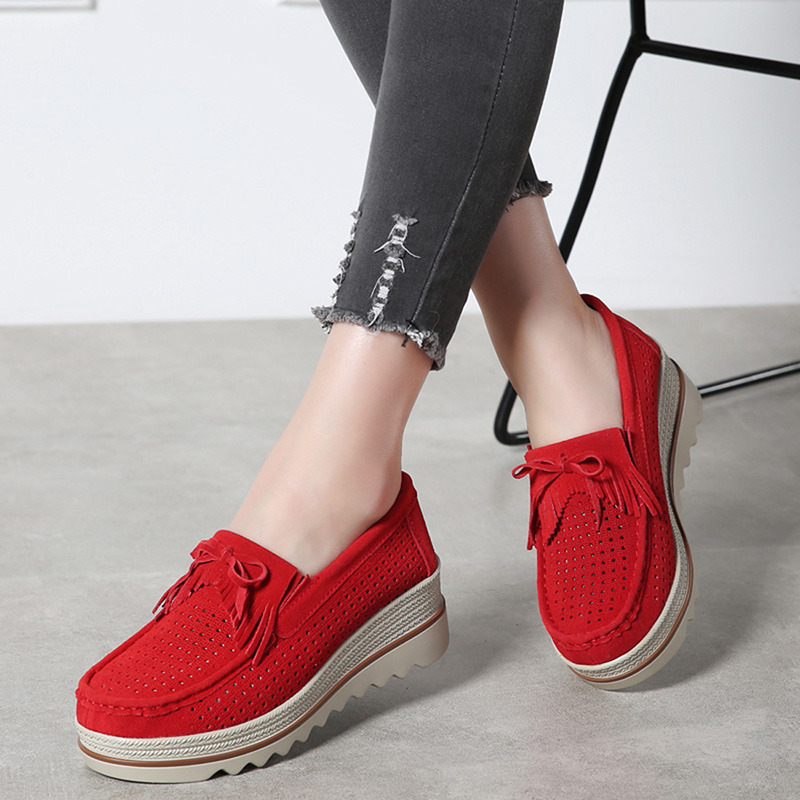 HX 3088 Platform Flats Shoes Women-21