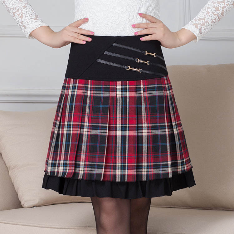 Шерстяные юбки зимние