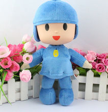 Novo Varejo 1 pcs Pocoyo Plush Stuffed Toy Boneca Figura 27 11 polegada cm(China)