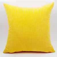 GGGGGO HOME Corduroy Fabric Cushion Cover 40x40cm 45x45cm 50x50cm 55x55cm 60x60cm 70x70cm Pillow Cover For Home