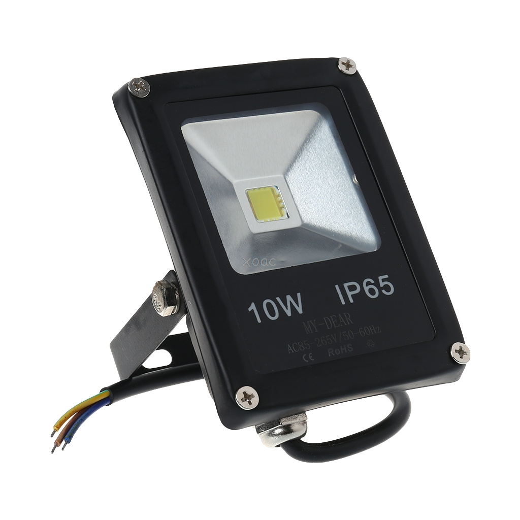 10W LED IP65 Flood Light Outdoor Garden Landscape Yard Warm/Cool White/RGB Lamp A25 Dropshipping