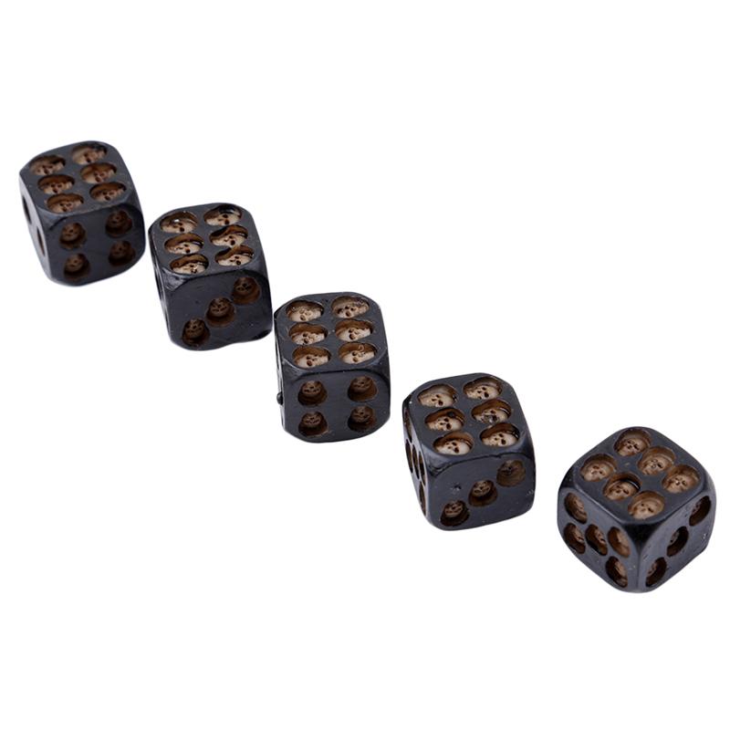 Dados con calaveras para juegos de mesa 4
