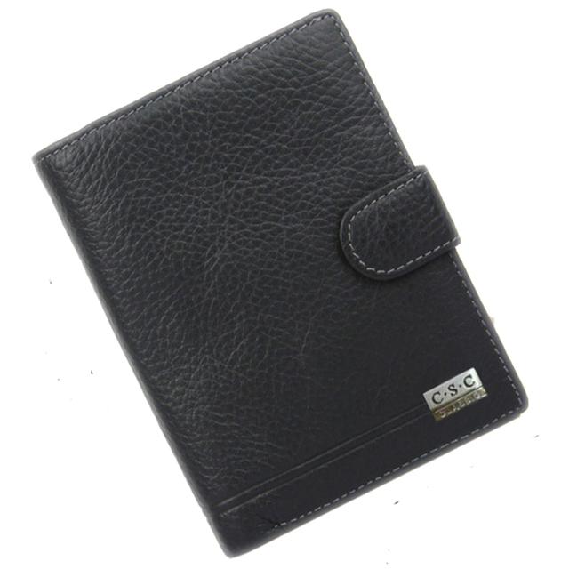 Carpeta de los hombres Cartera De Cuero de Genius 2016 Famosa Marca Diseñadores Embrague Masculina Bolsa de Dinero de Bolsillo de Gran Capacidad Monederos tarjeta de Identificación