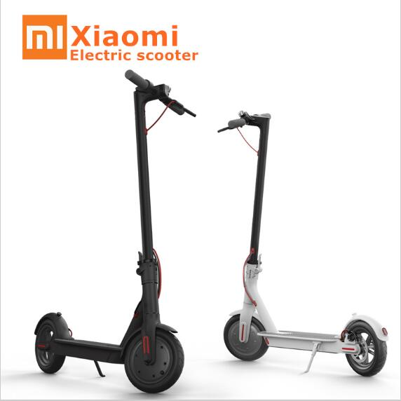 2017 Original Xiaomi Mijia Electric Scooter Hoverboard Skate Foldable Bike Mini Motor Steering Wheel In Self Balance Scooters From