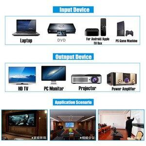 Image 4 - 2160P HD 4K x 2K ثلاثية الأبعاد HDMI إلى HDMI الصوت والفيديو النازع SPDIF البصرية ، وإزالة HDCP مفتاح اتفاق محول صوت فاصل ، الاتحاد الأوروبي التوصيل