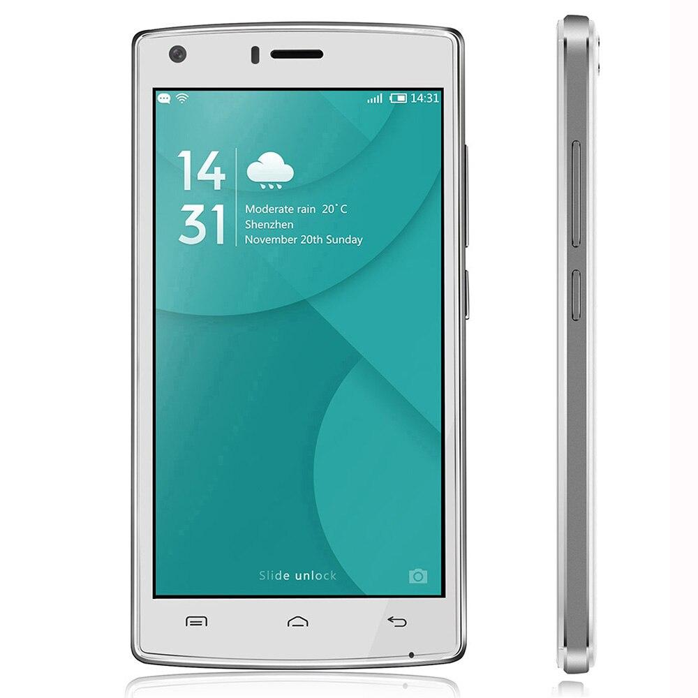 Ursprüngliche Doogee X5 Max 3G Handy 5,0 ''MTK6580 Quad Core Android 6.0 HD Screen Doppelsim Fingerprint ID 4000 mAh handy