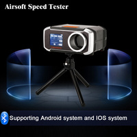 Airsoft Speed Tester Hunting Shooting Paintball Chronograph Speed Testers Supoort Bluetooth Connection Android IOS Multilanguage